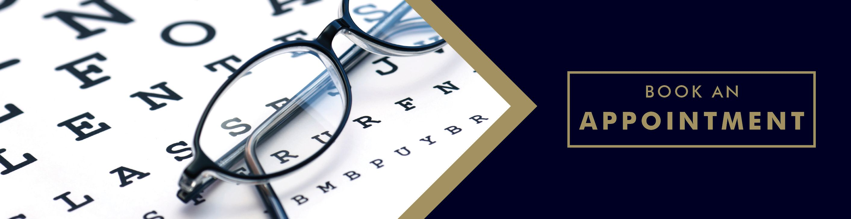 Eye Test Book an appointement Graphic